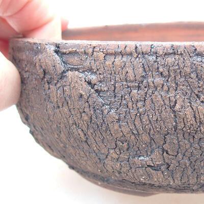 Ceramiczna miska bonsai 15 x 15 x 6 cm, kolor spękany - 2