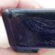 Ceramiczna miska bonsai 9 x 7,5 x 3 cm, kolor niebieski - 2/4