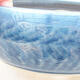 Ceramiczna miska bonsai 14 x 14 x 5,5 cm, kolor niebieski - 2/3