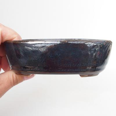 Ceramiczna miska bonsai - wypalana w piecu gazowym 1240 ° C - 2