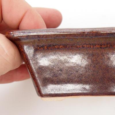 Ceramiczna miska do bonsai - wypalana w piecu gazowym 1240 ° C - 2