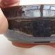 Ceramiczna miska bonsai 13 x 13 x 5 cm, kolor zielony - 2/4
