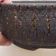 Ceramiczna miska bonsai 19,5 x 19,5 x 7 cm, kolor spękany - 2/4
