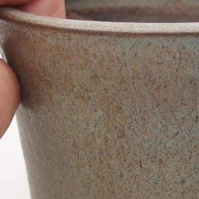 Ceramiczna miska bonsai 10 x 10 x 10 cm, kolor niebieski - 2