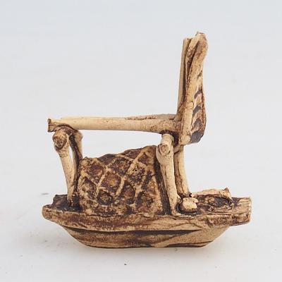 Figurka ceramiczna - statek - 2