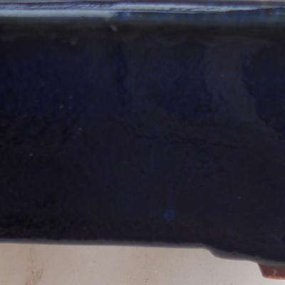 Ceramiczna miska bonsai 8,5 x 8,5 x 4,5 cm, kolor niebieski - II gatunek - 2
