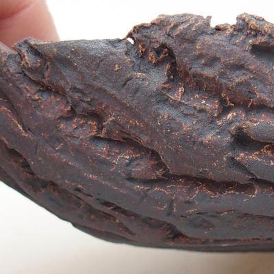 Ceramiczna miska bonsai 17 x 11 x 5 cm, kolor szary - II gatunek - 2