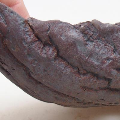 Ceramiczna miska bonsai 16 x 10 x 5,5 cm, kolor szary - II gatunek - 2