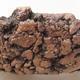 Ceramiczna miska bonsai 13 x 13 x 4 cm, kolor szary - II gatunek - 2/3