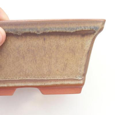 Miska Bonsai 14,5 x 12 x 7 cm, kolor brązowy - 2