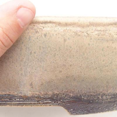 Miska Bonsai 29,5 x 23 x 8 cm, kolor brązowo-beżowy - 2