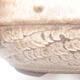 Ceramiczna miska bonsai 18,5 x 18,5 x 7 cm, kolor brązowy - 2/4