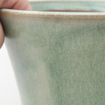 Ceramiczna miska bonsai 15 x 15 x 15 cm, kolor zielony - 2
