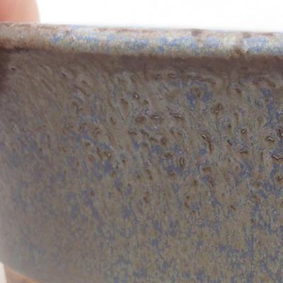 Ceramiczna miska bonsai 26,5 x 21,5 x 6 cm, kolor niebieski - 2