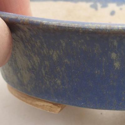 Ceramiczna miska bonsai 14 x 12 x 3,5 cm, kolor niebieski - 2