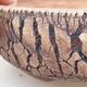 Ceramiczna miska bonsai 20 x 20 x 7 cm, kolor szary - 2/4