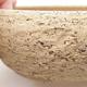 Ceramiczna miska bonsai 15,5 x 15,5 x 5,5 cm, kolor szary - 2/4