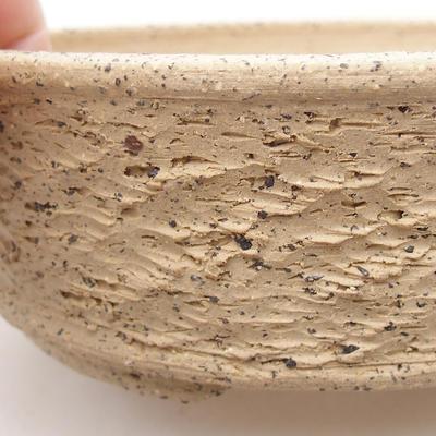Ceramiczna miska bonsai 16,5 x 16,5 x 5,5 cm, kolor szary - 2