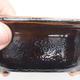Ceramiczna miska bonsai 13 x 10 x 5 cm, kolor brązowo-zielony - 2/3