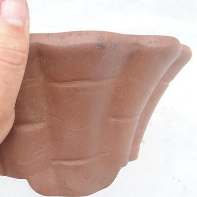 Miska Bonsai 22 x 22 x 10 cm, kolor szary - 2