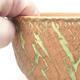 Ceramiczna miska bonsai 14 x 14 x 8,5 cm, kolor spękany - 2/4