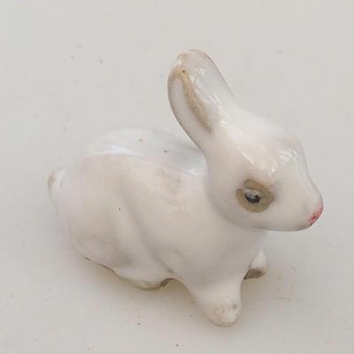 Figurka ceramiczna - zając - 2