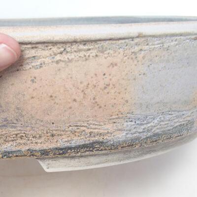 Miska Bonsai 45 x 36,5 x 9 cm, kolor szaro-beżowy - 2