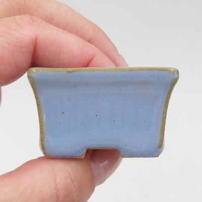 Mini miska bonsai 4 x 3 x 2,5 cm, kolor niebieski - 2