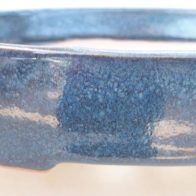 Ceramiczna miska bonsai 17 x 14 x 4 cm, kolor niebieski - 2
