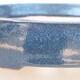 Ceramiczna miska bonsai 17 x 14 x 4 cm, kolor niebieski - 2/3