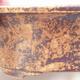 Ceramiczna miska bonsai 21,5 x 17 x 6 cm, kolor brązowo-żółty - 2/3