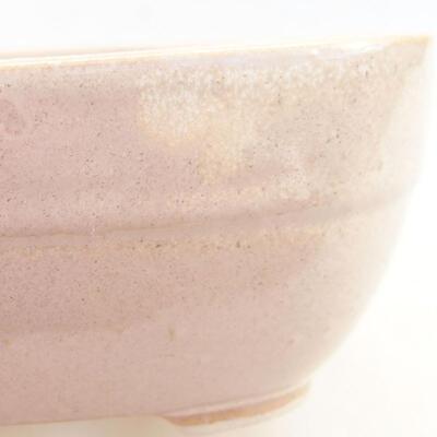 Ceramiczna miska bonsai 11,5 x 8 x 5 cm, kolor beżowy - 2