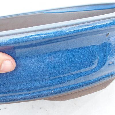 Miska Bonsai 51 x 41 x 10 cm, kolor niebieski - 2