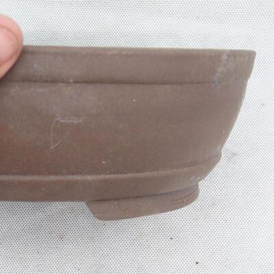 Miska Bonsai 26 x 19 x 7,5 cm, kolor szary - 2