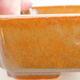 Ceramiczna miska bonsai 14,5 x 11 x 5 cm, kolor brązowy - 2/2