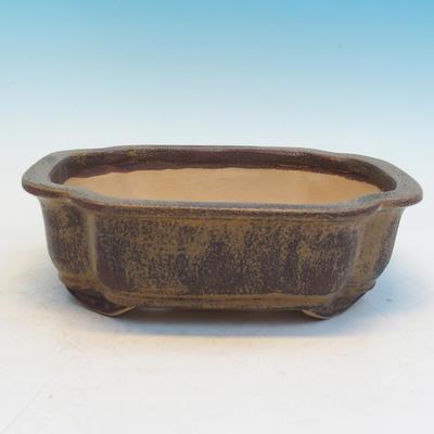 Bonsai ceramiczne miseczki cej 53, brązowy - 2