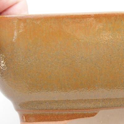 Ceramiczna miska bonsai 22 x 17 x 7 cm, kolor brązowy - 2