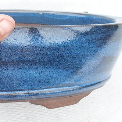 Miska Bonsai 30 x 20 x 7 cm, kolor niebieski - 2
