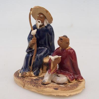 Figurka ceramiczna - dwóch mędrców - 2