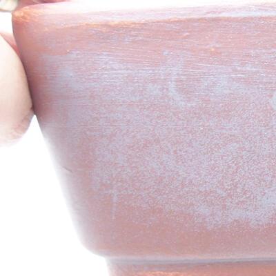 Ceramiczna miska bonsai 25 x 19,5 x 6,5 cm, kolor szary - 2