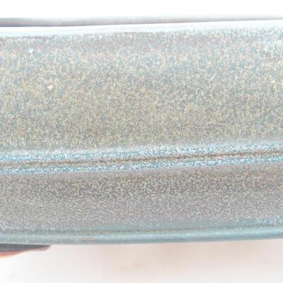 Ceramiczna miska bonsai 24 x 19 x 7 cm, kolor szary - 2
