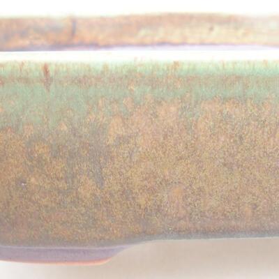 Ceramiczna miska bonsai 23 x 17,5 x 5 cm, kolor zielony - 2