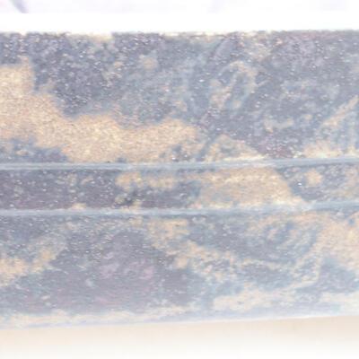 Ceramiczna miska bonsai 26 x 20 x 8 cm, kolor szary - 2