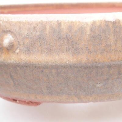 Ceramiczna miska bonsai 19 x 19 x 5,5 cm, kolor brązowy - 2