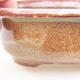 Ceramiczna miska bonsai 14 x 11 x 5 cm, kolor brązowy - 2/3