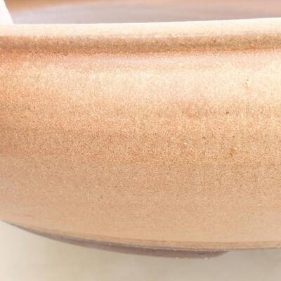 Ceramiczna miska bonsai 34 x 34 x 8,5 cm, kolor brązowy - 2