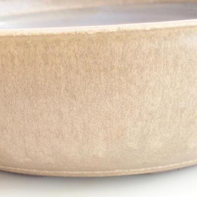 Ceramiczna miska bonsai 37 x 37 x 10 cm, kolor brązowy - 2
