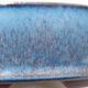 Ceramiczna miska bonsai 14,5 x 14,5 x 4,5 cm, kolor niebieski - 2/3
