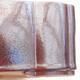 Ceramiczna miska bonsai 20,5 x 17 x 7 cm, kolor brązowy - 2/3