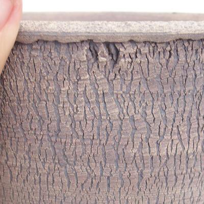 Ceramiczna miska bonsai 16,5 x 16,5 x 16,5 cm, kolor spękany - 2